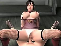 Hot 3D boobs