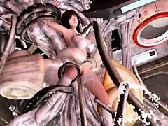 3D tentacle porn