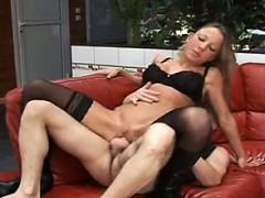 Slutty Alexia Vendome gets banged really hard in all holes.