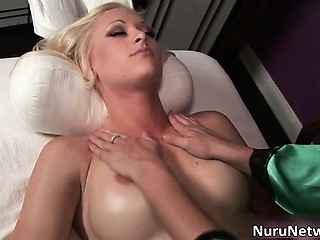 Amazing hot blonde slut gets fingered part4