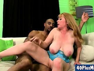 horny mom fucks black dong