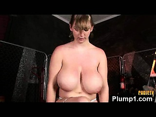 Monster Beaver Seductive BBW Pressed And Penetrated
