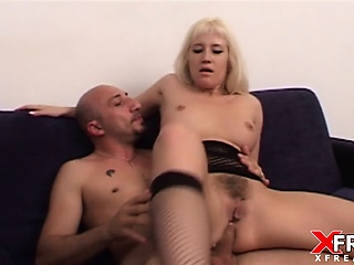 Asia Blondy in anal sex and gapes fucked by Omar Galanti