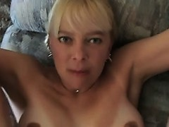 40 yo Ashley Getting it on the Couch