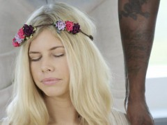 BLACKED Blonde Addison Belgium Squirts on Huge Black Dick