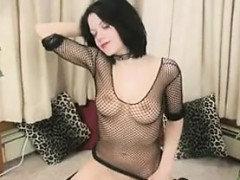 Emo Girl Riding Her Sybian