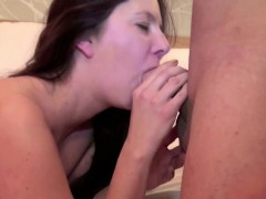Hot Mother Seduce Her Step-Son to Fuck when Dad is away
