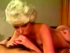 80s Waterbed Fuck Romp With Blonde