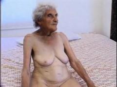 90 years old but still loves screw Enedina from 1fuckdatecom