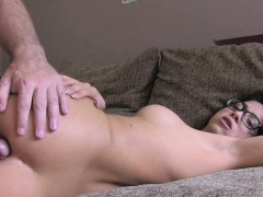 English beauty anal fucked in casting