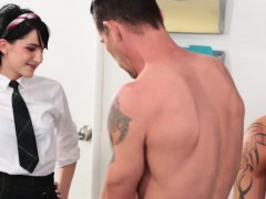 Allora Ashlyn Gives Blowjobs and Fucked