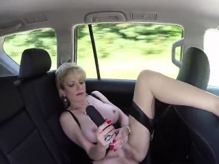 Unfaithful british milf lady sonia exposes her huge hooters