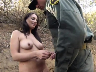 Amazing facial Kayla West was caught lusty patrool during bo
