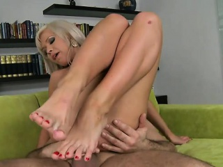russian pornstar foot and anal cumshot