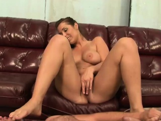 Naughty Beverly punishes her horny man