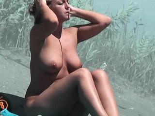 Nice girls on nude beach of the south of France