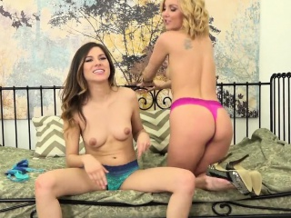 Petite Babes Aaliyah Love and Shyla Jennings are a Hot Pair