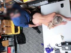 Emma Hix blowjob the LP Officers big meat