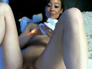 Pretty Skinny Cammodel Caught On Cam