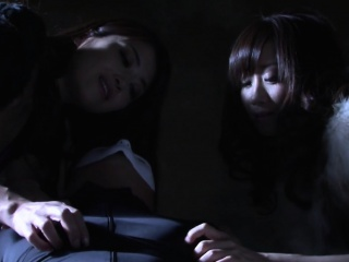 Subtitled bizarre Japanese zentai suit drama foreplay in HD