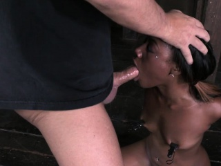 Chanell gets wrecked and helpless