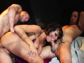 anal dp 3some with crazy pornstar