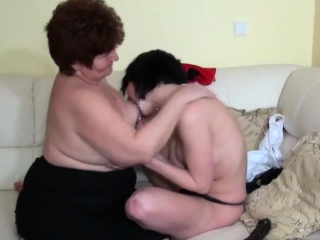 Granny gets lucky with three