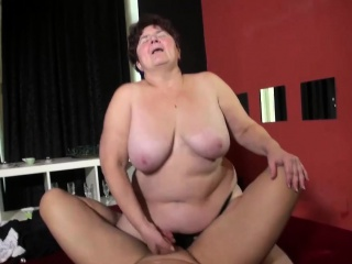 OldNannY Busty BBW Old Mature Granny Compilation