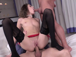 Euro whore gets fingered and anal