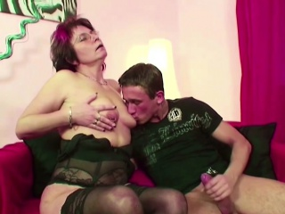 Mother Caught Step-Son Watch Porn and help with First Fuck