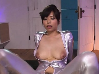 Smoking sexy japanese woman is cheerful to give a ride