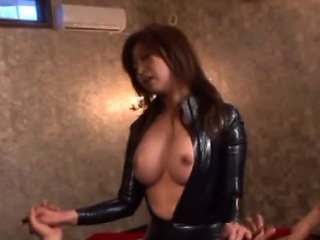 Needy japanese throats a large rod in pov cosplay scenes