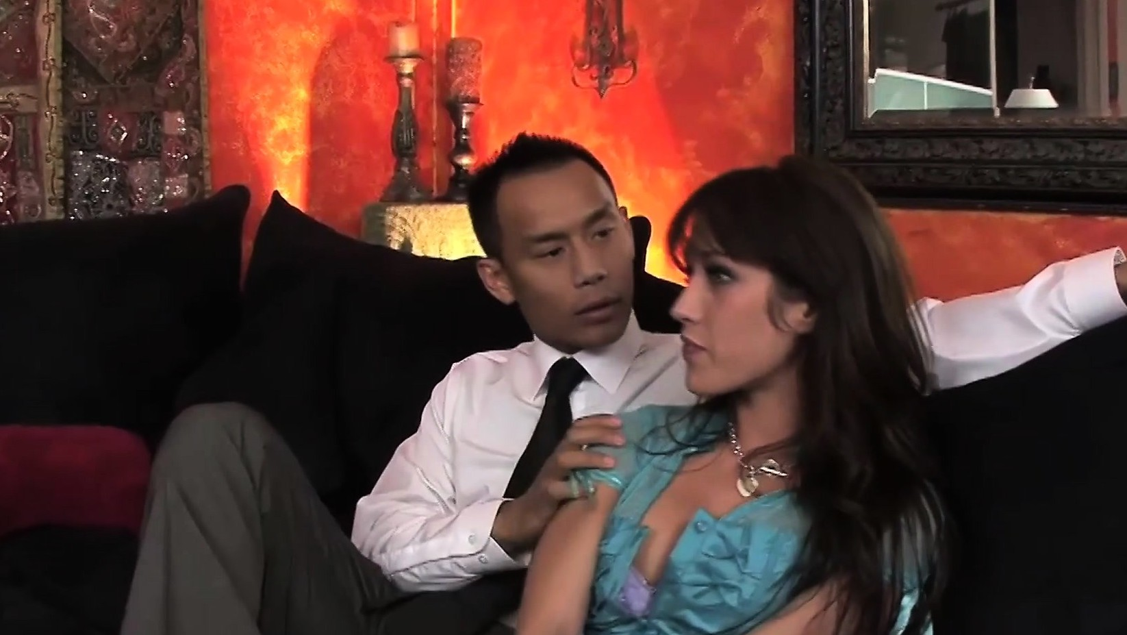 The Horny Maid Gets Fucked Hard In This Hot Threesome
