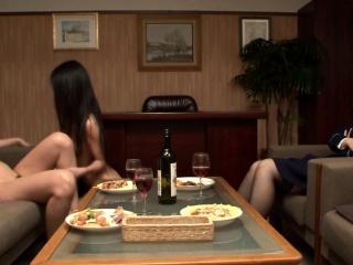 JAV Secret Prison CFNF lesbian cunnilingus HD Subtitled
