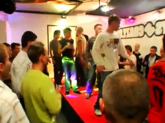 Cute Studs Homosexual Orgy Soiree And Gang Douche Tear Up First-ever Time