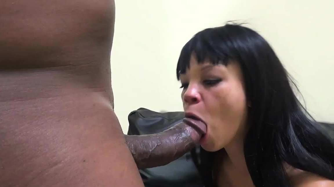 Ashley Takes A Big Black Dick