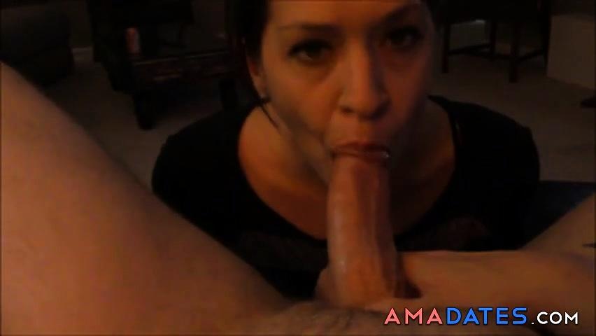 Homemade Girlfriend Blowjob And Big Swallow Cumshot
