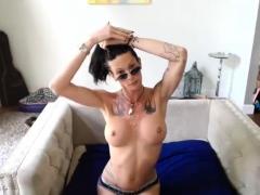 Delightful Tattooed Shemale Hooker