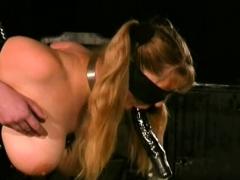 Breasty Chick Scorching Slavery