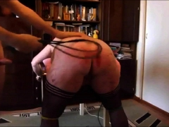 My Good-sized Hoe Bum Gets Caned