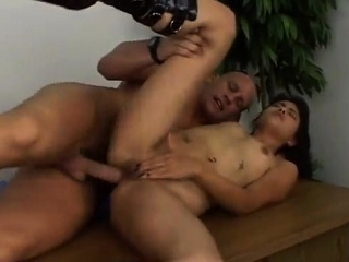 sexy thai girls gets fucked hard and swallows cum