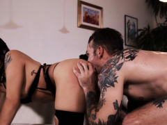 Goth In Stockings Fucked