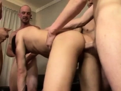 Licking armpit gay porn xxx Little Leon Learns a Big