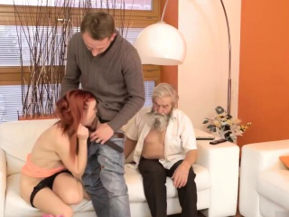 amazing milf blowjob unexpected practice with an older