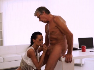 girl rides daddy finally she's got her chief dick