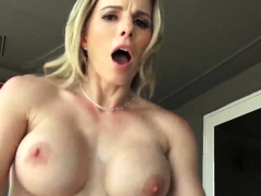 Hardcore toys threesome Cory Chase in Revenge On Your