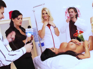 jasmine black orgy with a group of hot friends