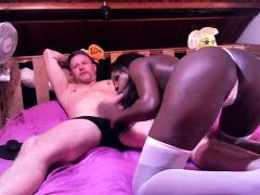 Sexy as hoe twirks ebony black dick amateur interracial