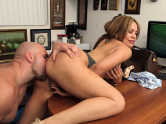 Pretty Latina Brunette Samantha Bell Behaving Badly