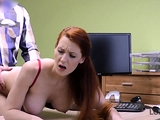 LOAN4K. Loan agent can assist red-haired beauty if she…